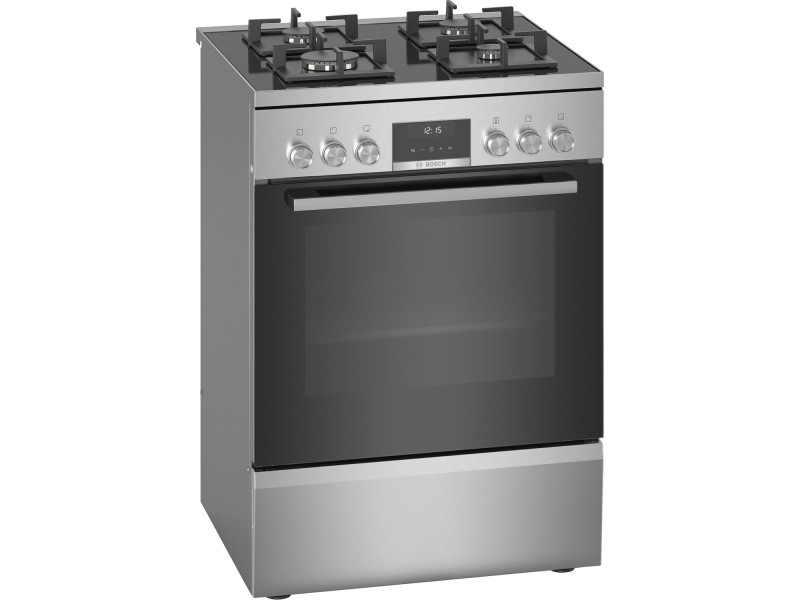 Cuisinière à gaz a 66l 4 feux inox - hws59ie50 hws59ie50