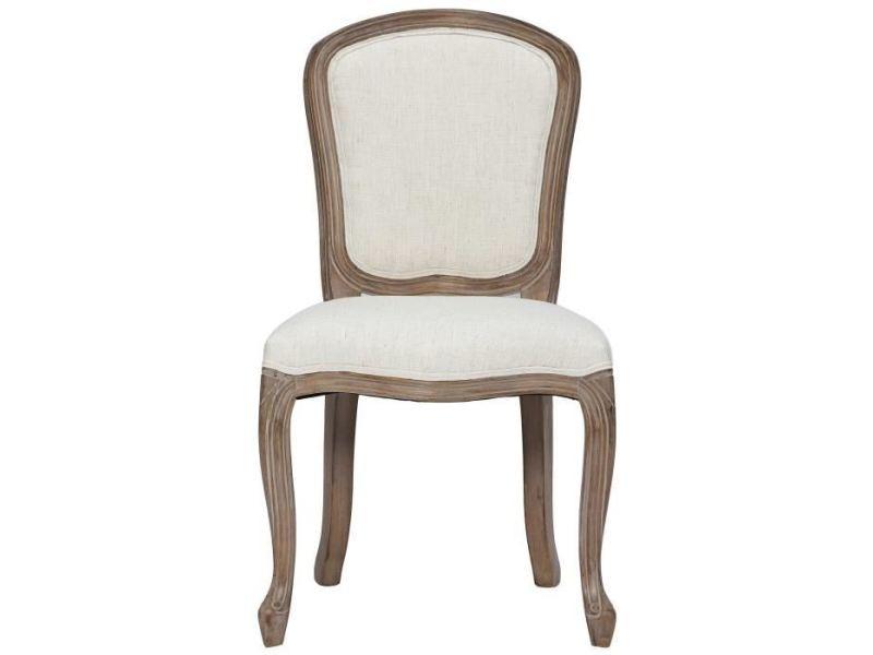 Chaise classique lot de 2 chaises de salle a manger en bois