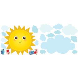 Stickers chambre bébé rayon de soleil
