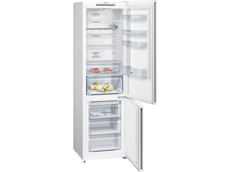 Réfrigérateur combiné 366l froid ventilé siemens 60cm a++, kg 39 nv we c 67524