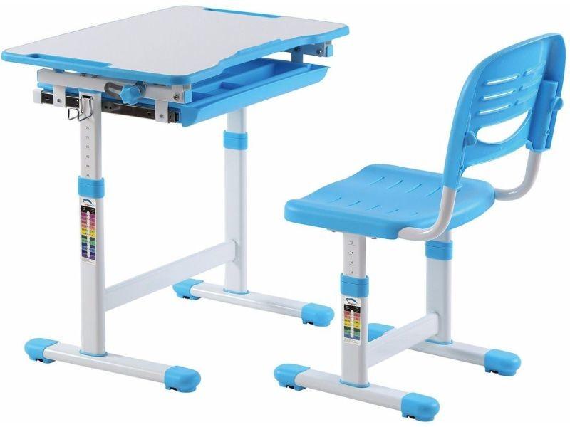 Ensemble Bureau Et Chaise Pour Enfant Réglable En Hauteur Avec