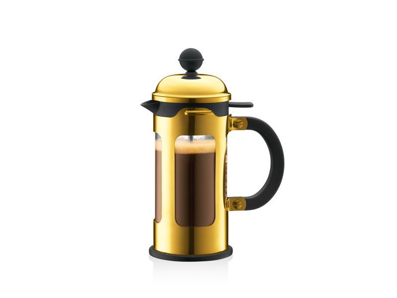 Bodum chambord® cafetière à piston, 3 tasses, 0.35 l, avec bec verseur 11170-17