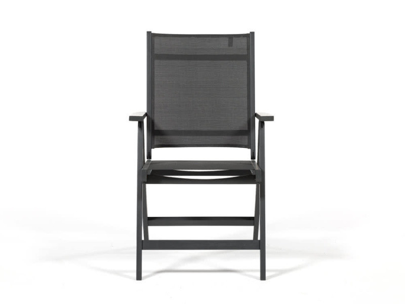 Fauteuil multipositions en acacia gris cambera - Vente de Salon de ...