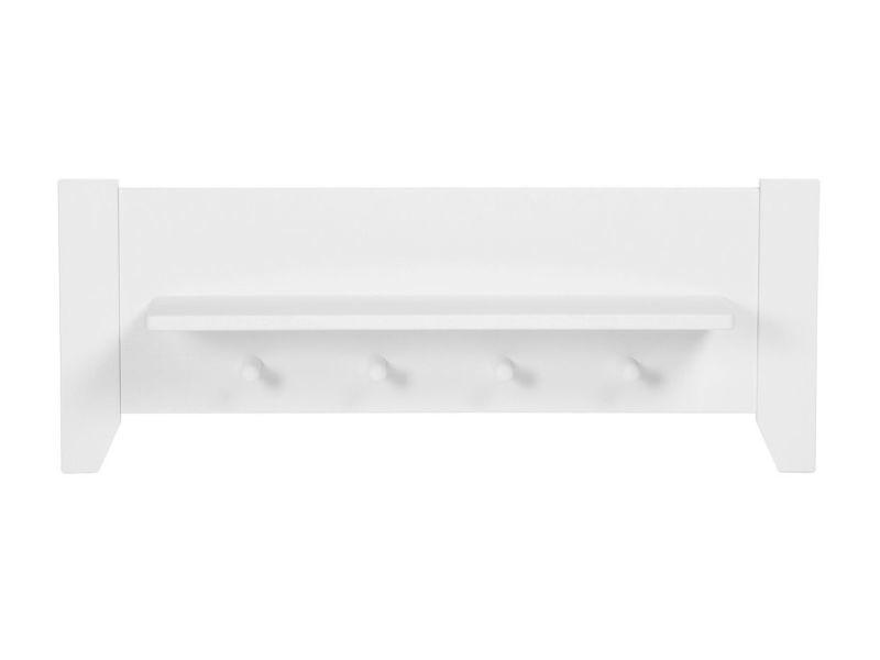 etag re murale pour chambre b b coloris blanc vente de comforium conforama. Black Bedroom Furniture Sets. Home Design Ideas
