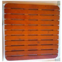 Caillebotis bois pour bac à douche de 80, 90,100