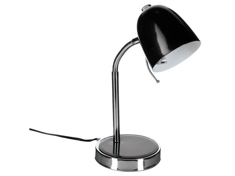 Lampe de bureau métal noir vente de lampe de bureau conforama