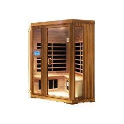 Sauna infrarouge finnspa corneno iv c, version ii