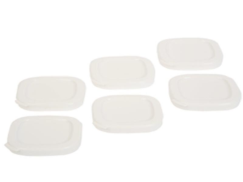 Couvercles rouge pot yaourt livre par 6 reference : ss-194113
