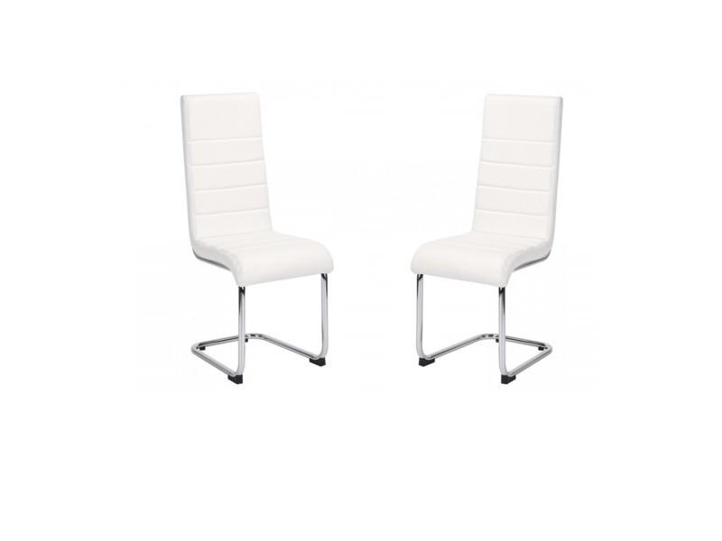 table rectangle fixe edward 6 chaises conforama