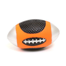 Balle souple - rugby - orange
