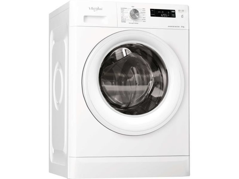 Lave-linge frontal 9kg whirlpool 1200tr/min 64cm a+++, whi8003437044465 WHI8003437044465