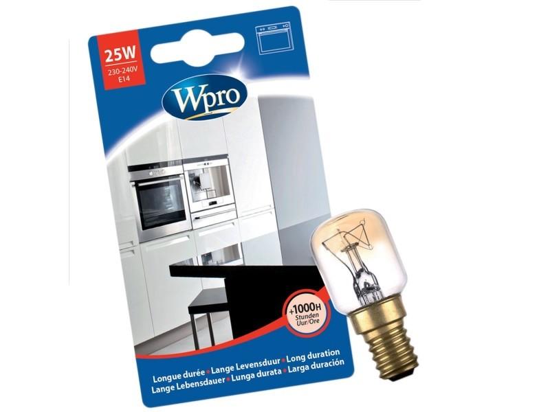 Ampoule t25 / e14 / 25w four, cuisinière wpro 484000008842