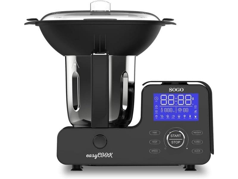 Robot de cuisine multifonction sogo easy cook bat-ss-14555 1500 w, 2 litres, 11 vitesses