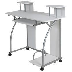 Bureau enfant table de travail meuble mobilier chambre blanc 2608003