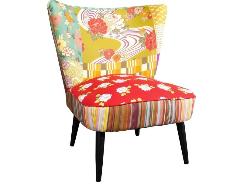 Fauteuil Design En Polyester Multicolore Vente De Tous Les - Fauteuil multicolore design