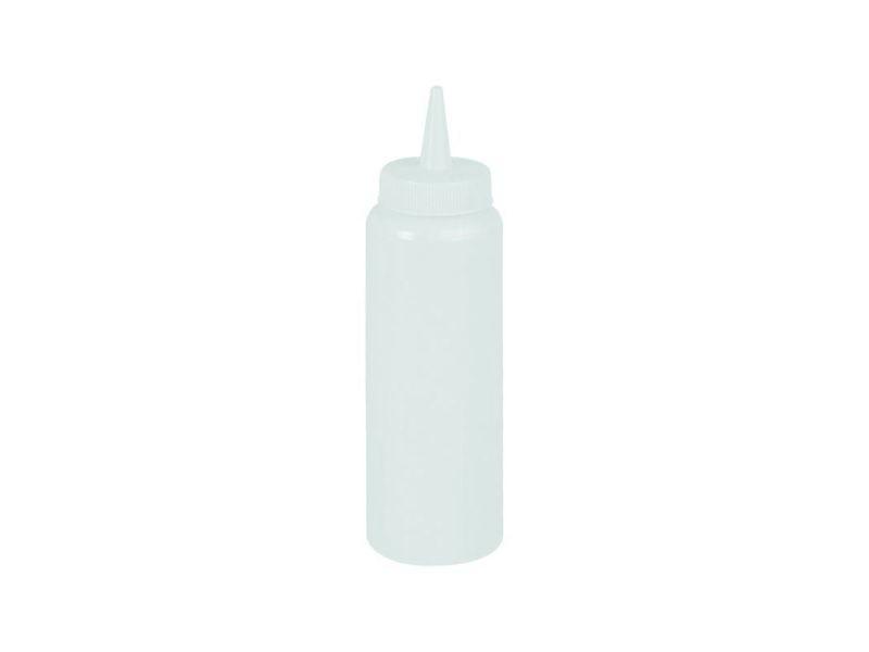 Distributeur de sauces - coloris au choix - 0.35 à 0.70 l - stalgast - 0.700 l 5,5 cm blanc polyéthylène 35 cl
