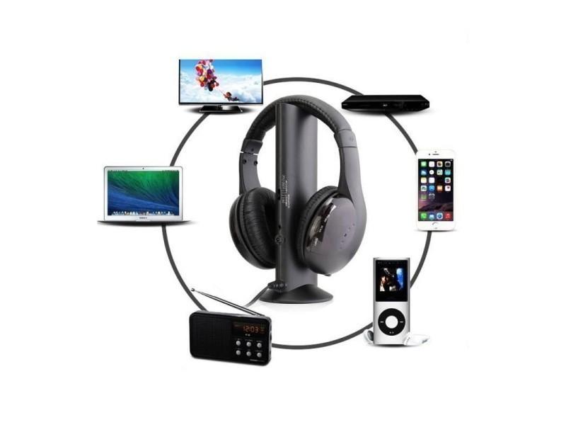 bureau vallée casque audio pur television sans fil