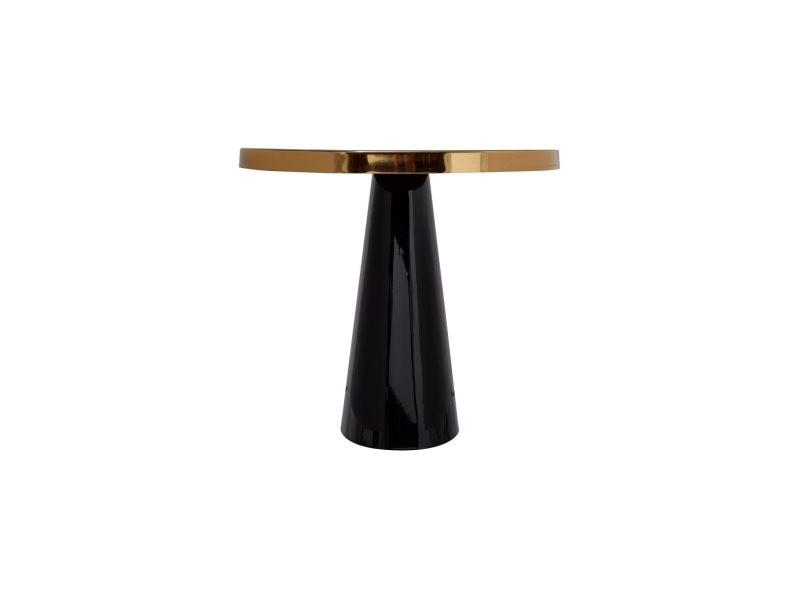 Table d'appoint art déco 625 Q59W7-BLK