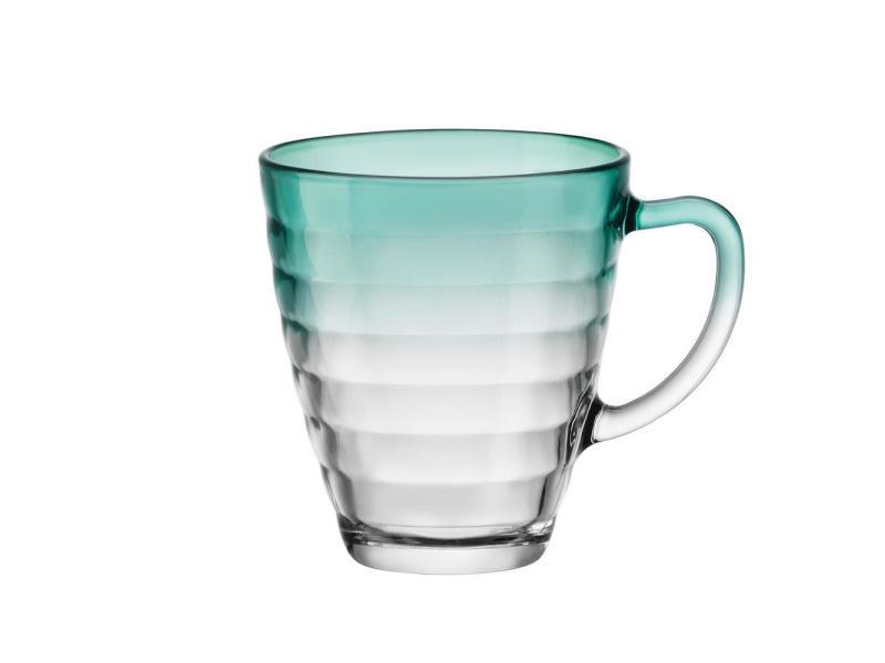 Mug circles vert 31 cl. (lot de 6)