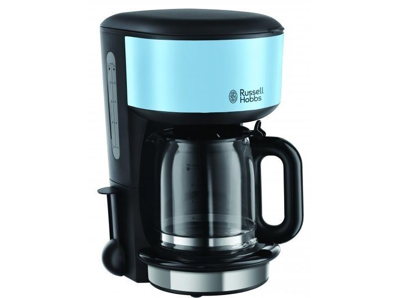 Russell hobbs cafetière filtre tasses colours plus bleu
