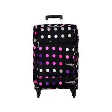 valise souple david jones 76cm vente de david jones. Black Bedroom Furniture Sets. Home Design Ideas