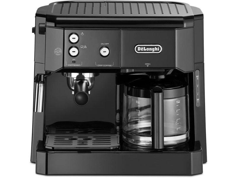 Machine à expresso combiné cafetière 1750w noir