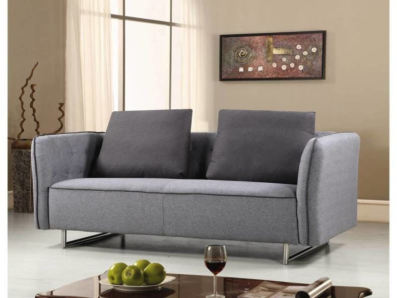 canap tissu biarritz 3 places gris vente de habitat et jardin conforama. Black Bedroom Furniture Sets. Home Design Ideas