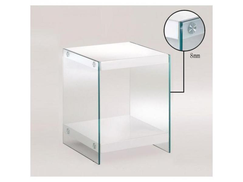 Bout de canap corine en verre 20100831368 vente de - Bout de canape conforama ...