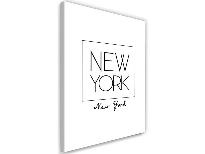 Toile, inscription à new york