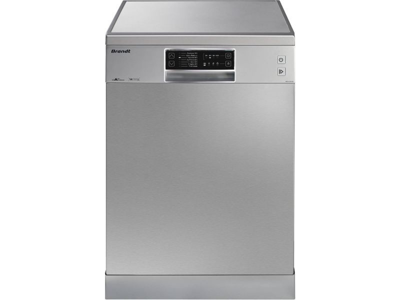 Lave-vaisselle pose libre brandt 14 couverts 60cm a++, dfh 14524 x