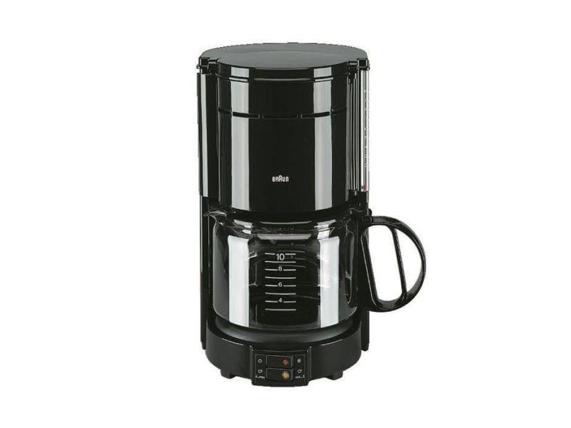 Braun kf47/1 cafetiere filtre aromaster classic - noir BRAKF47BLACK