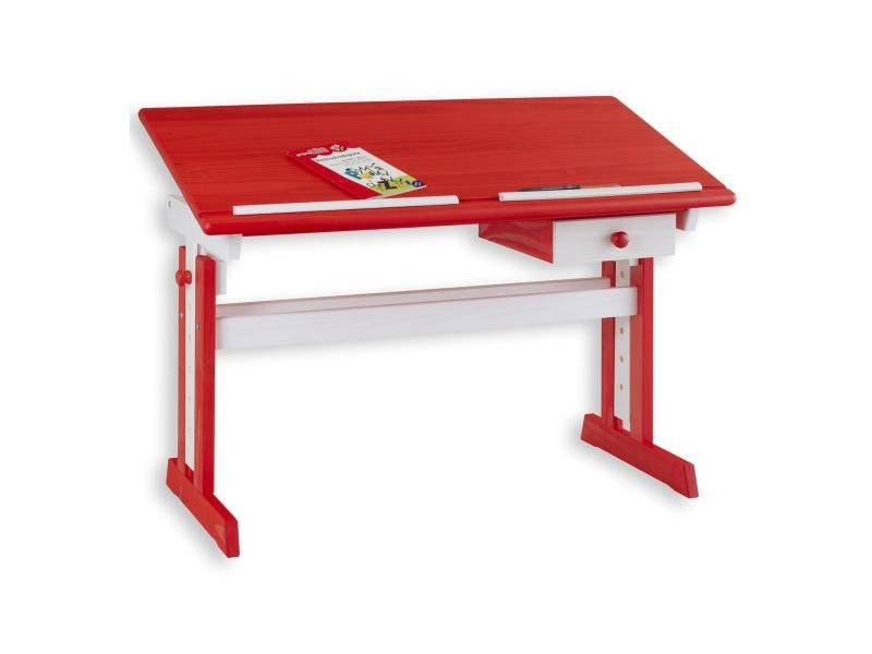Bureau enfant écolier junior flexi table à dessin réglable en