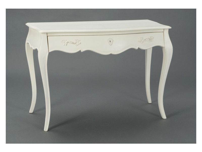 Bureau simple en bois blanc muriane vente de hellin conforama