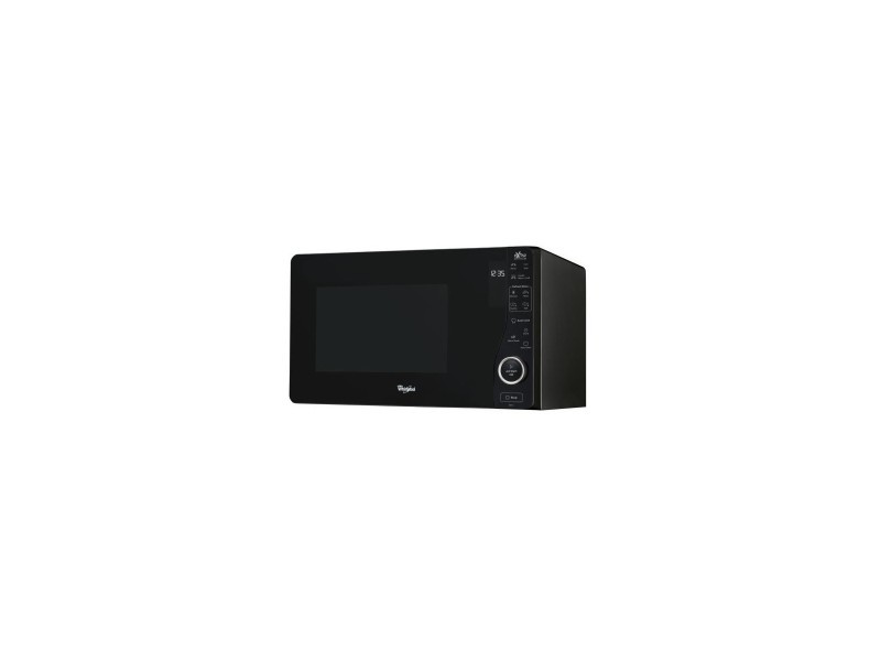 Micro-ondes posable 800w avec grill 1000w, noir, 25 l, cavité peinte, technologie extraspace