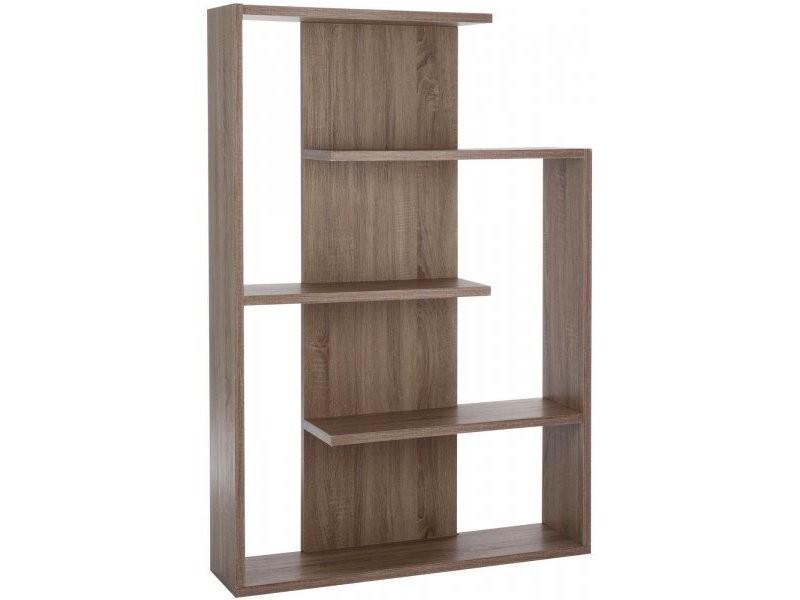 biblioth que etag re 3pla zigzag bs naturel 68113 vente de jolipa conforama. Black Bedroom Furniture Sets. Home Design Ideas