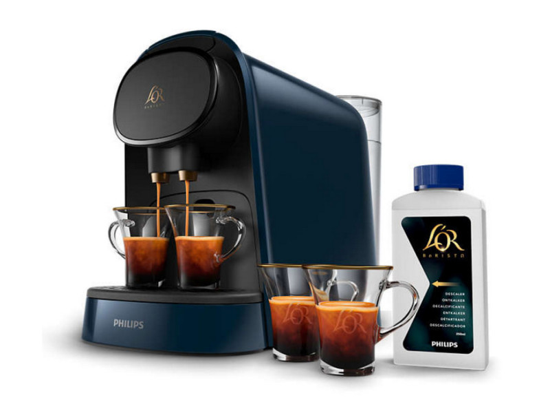 Machine à café à capsules 19bars bleu nuit - lm8012/41 lm8012/41