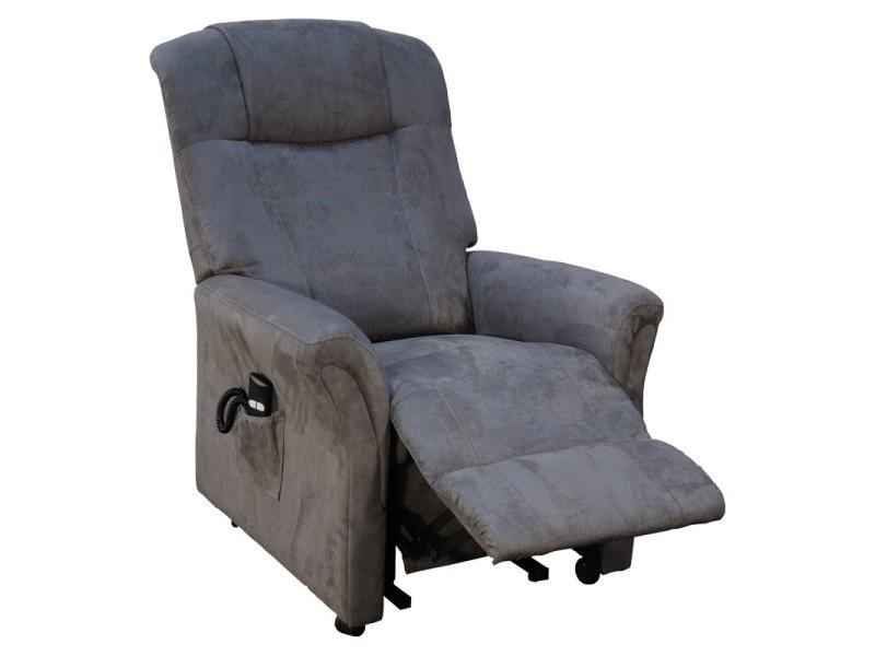 fauteuil releveur 2 moteurs gris liberty l 80 x l 80 158 x h 92 110 neuf vente de. Black Bedroom Furniture Sets. Home Design Ideas