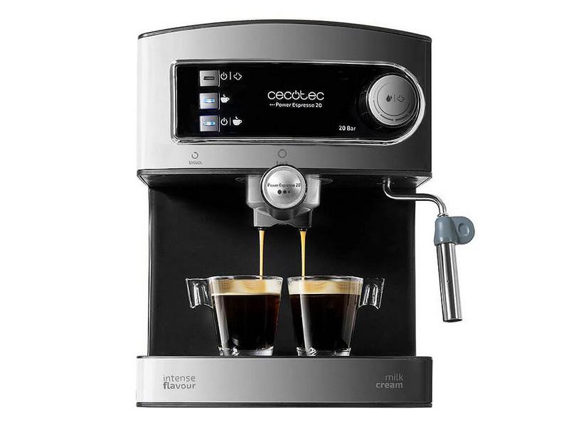 Cafetières sublime café express arm cecotec power espresso 20 1,5 l 850w noir acier inoxydable