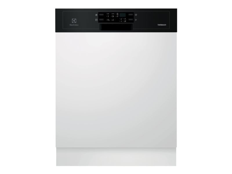 Lave-vaisselle 60cm 13c 44db a++ intégrable avec bandeau noir - esi5543lok esi5543lok