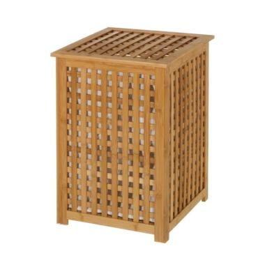 corbeille linge en bambou vente de panier linge et. Black Bedroom Furniture Sets. Home Design Ideas