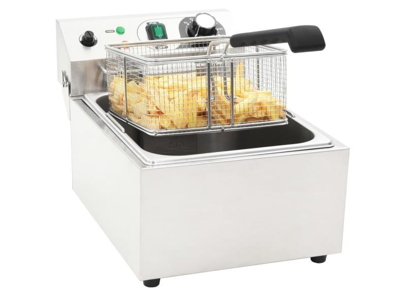Icaverne - friteuses gamme friteuse électrique acier inoxydable 10 l 3000 w