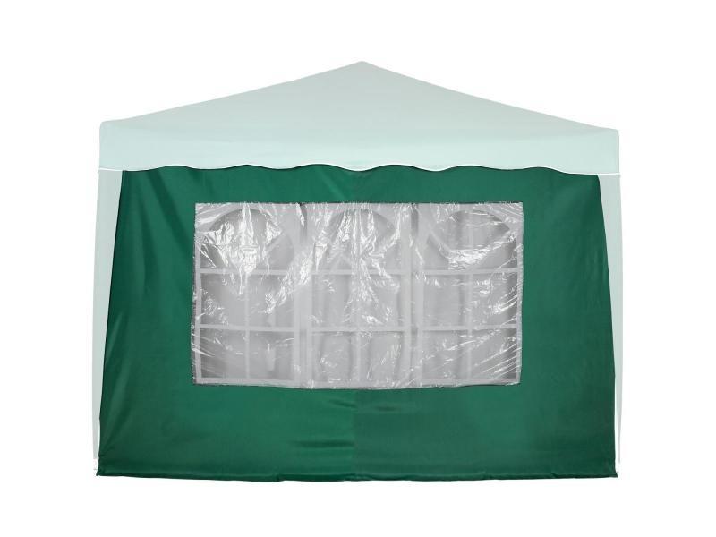 Instent® panneau latéral > avec 3 fenêtres, sans fermeture à glissière, coloris au choix - couleur : vert