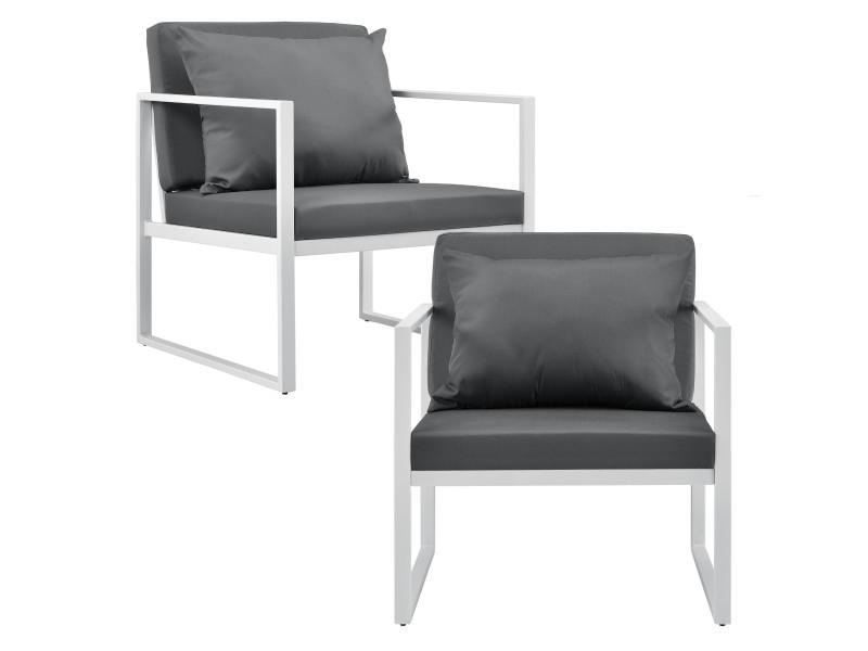 Avec Coussins Chaises Robustes Casa Confortables pro2 X Extérieure 3ARjL54q
