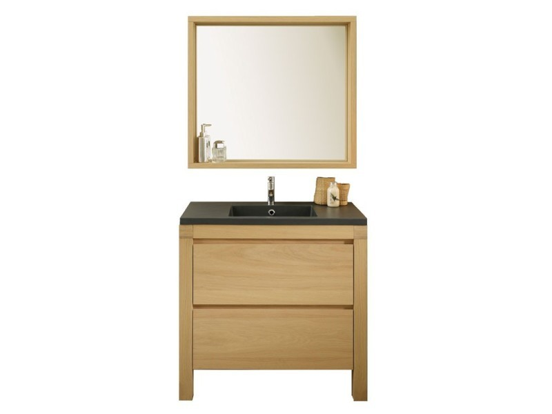 meuble avec vasque miroir de salle de bain artemis l 90 x l 50 x h 87 neuf vente de. Black Bedroom Furniture Sets. Home Design Ideas