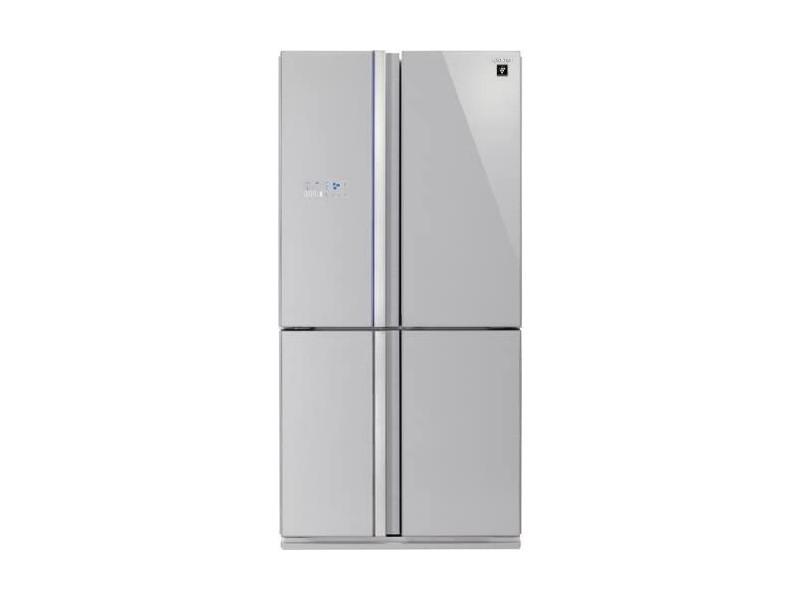 Réfrigérateur multi-portes 605l froid ventilé sharp 89cm a+, sjfs810vsl