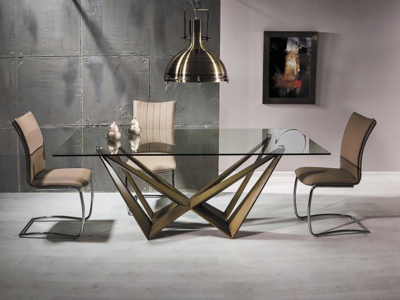Table à manger rectangulaire 200 cm x 100 cm x 76 cm