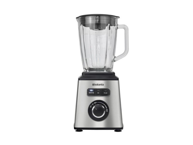 Mixeur-blender 1000 watts en acier inoxydable brabantia - bbek1052