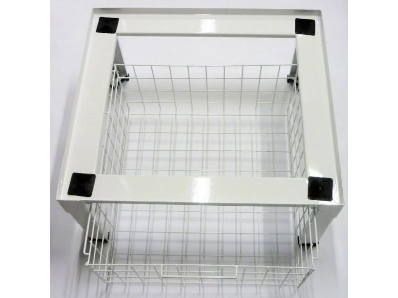 Piedestal 610 x 550 x 300mm universel electrolux pour lave-linge & sèche-linge a chargement frontal