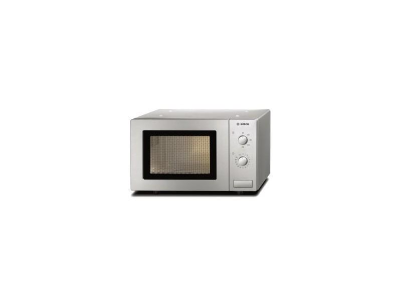 Micro-ondes posable 800w 17l silver, 5 niveaux de puissance, facile d'utilisation