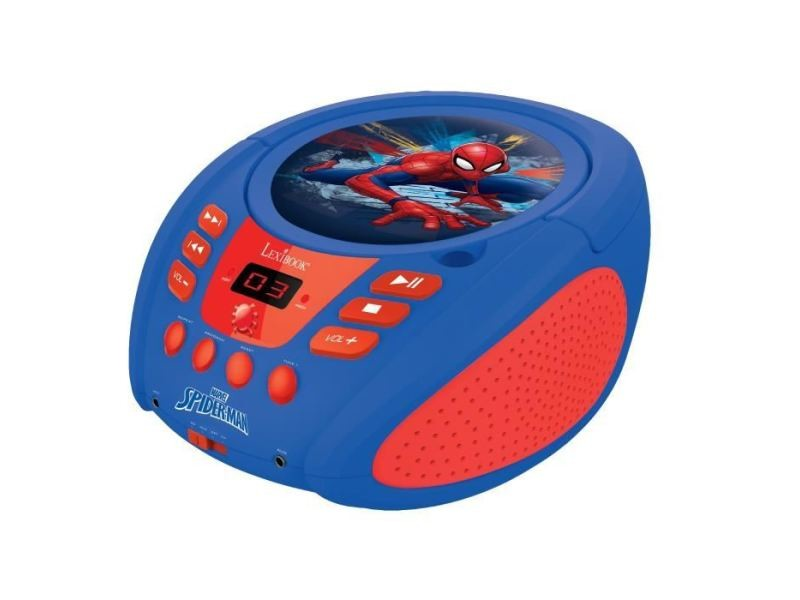 Lecteur cd radio boombox spiderman radio lecteur cd